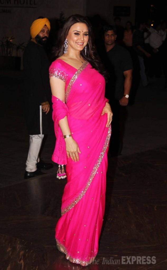 Preity Zinta : Classique et rayonnante